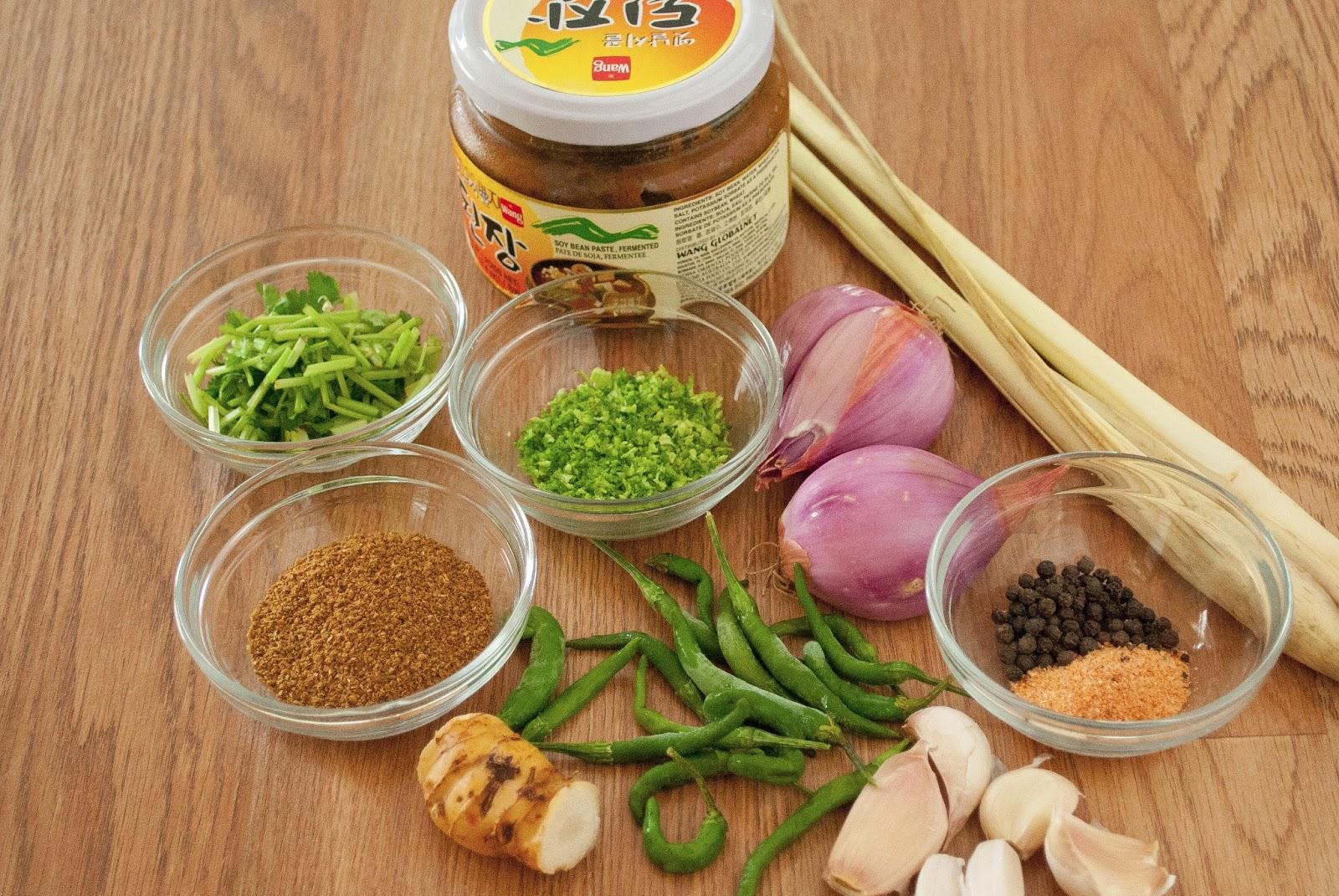 Thai Kitchen Green Curry Paste Ingredients