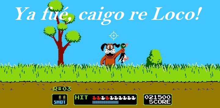 Ya fué, caigo re Loco!