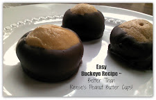 Easy Buckeye Recipe ~ Only 4 Ingredients~Better Than Reese's PB Cups!