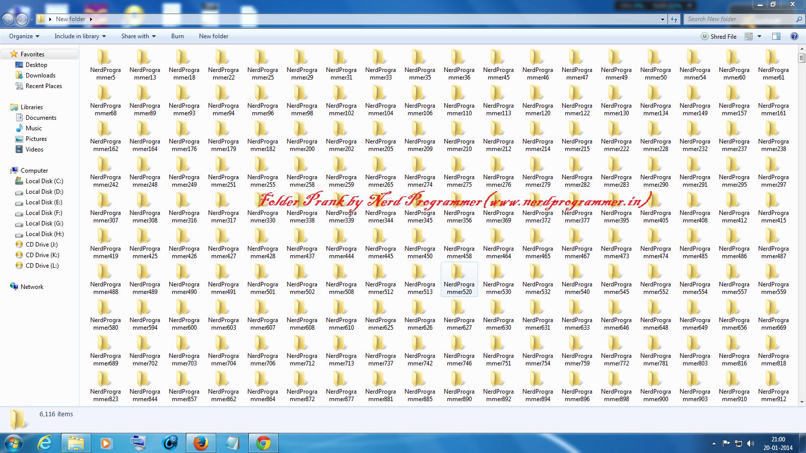 Folder Prank style=