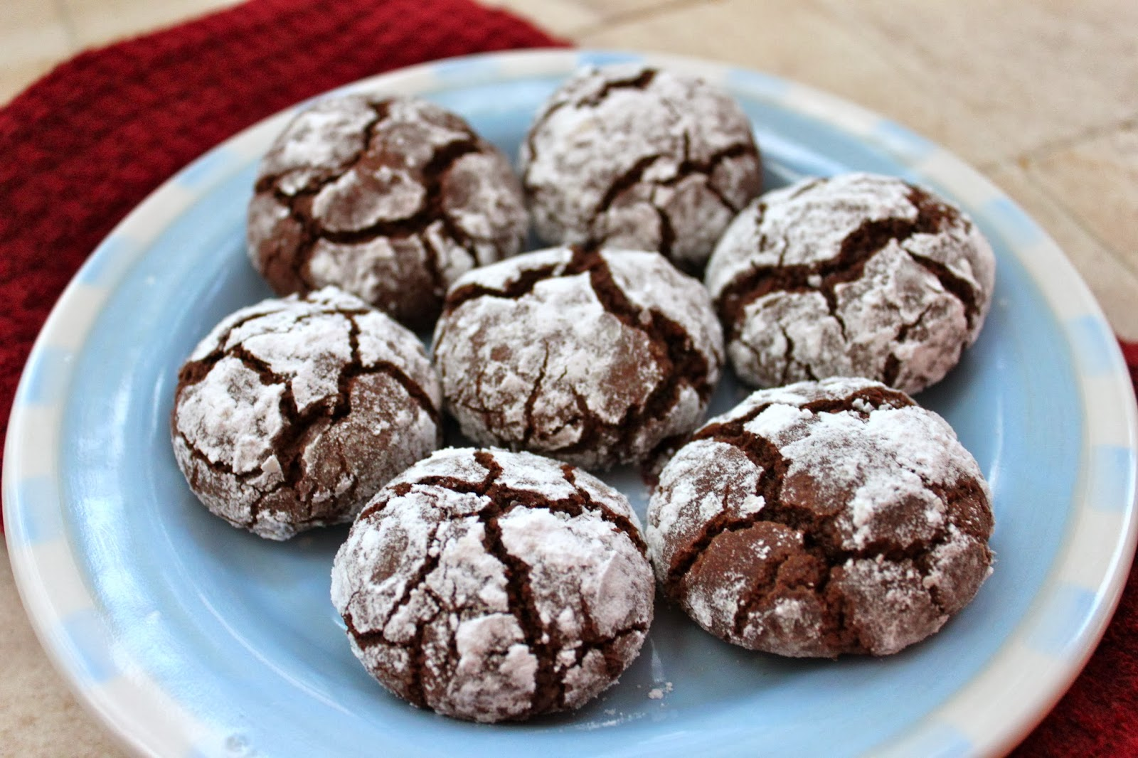 What's Baking in the Barbershop?!: Chocolate Espresso Crinkle Cookies