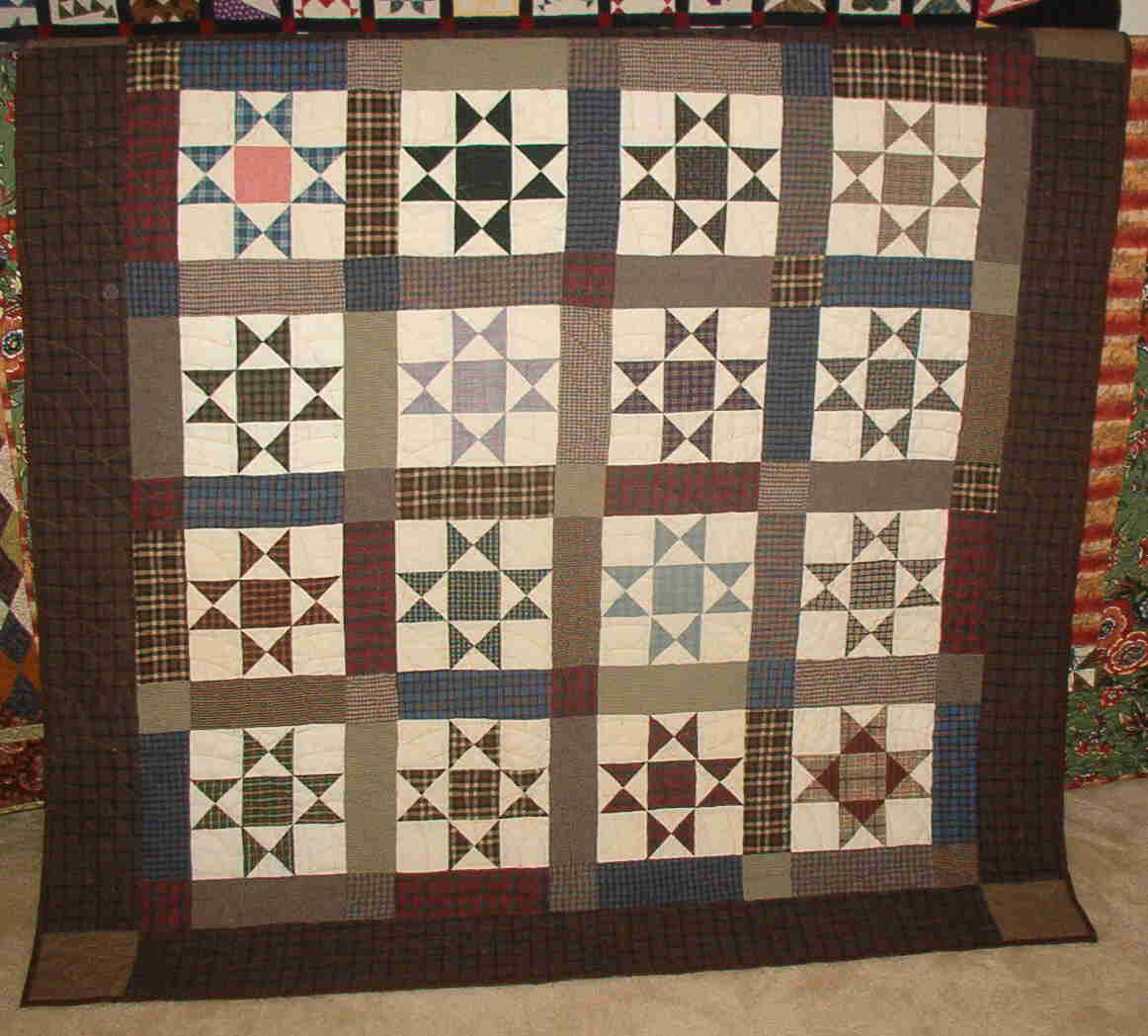 Disappearing Hour Glass Quilt Free Pattern | Quilting | Pinterest ... : ohio star quilt pattern free - Adamdwight.com