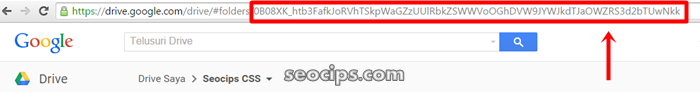 Link Folder Google Drive