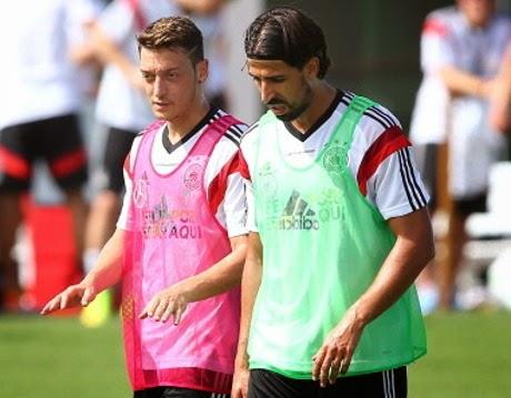 Khedira Bakal Berbaju Arsenal