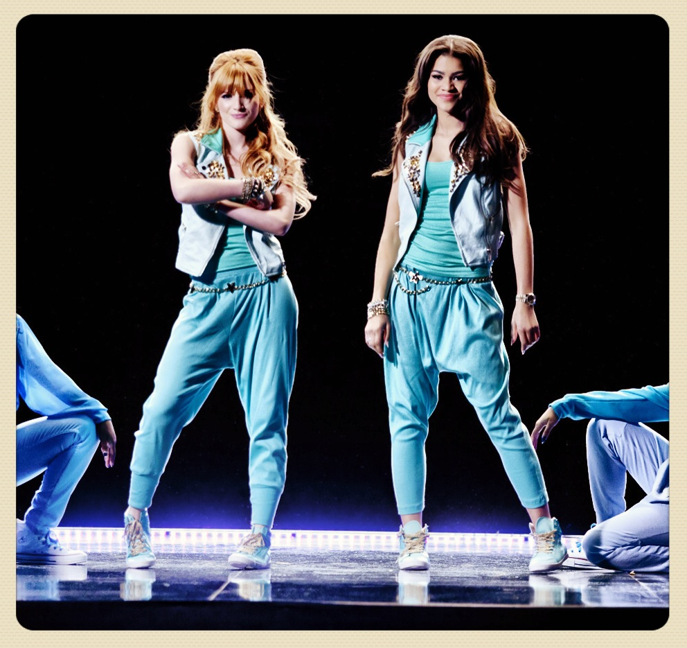 Bts peak at  ContagiousLove  Zendaya And Bella Thorne Contagious Love