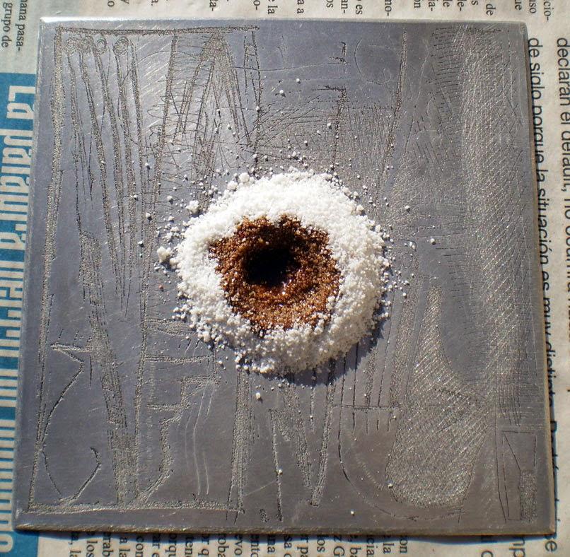 Grabado menos t xico desengrasar una plancha de metal - Planchas de metal ...