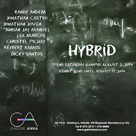 Hybrid: A Group Exhibition. Curated by Ricky Ambagan