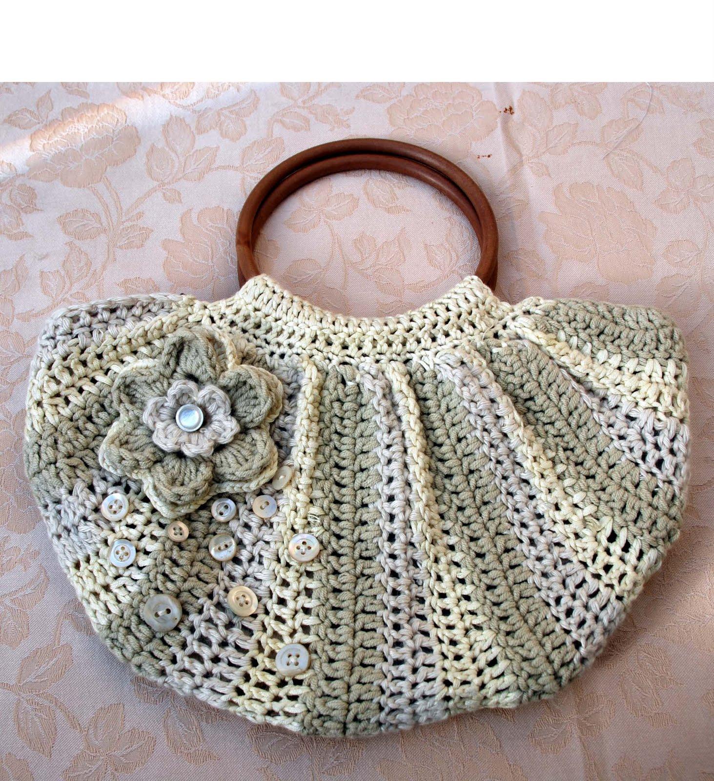 Crochet Patterns For A Purse : Knitting Patterns Free: crochet bag