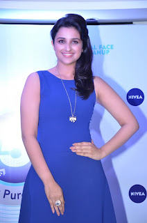 Parineeti Chopra Pictures in Blue Short Dress spicy pics