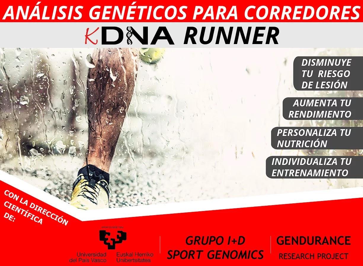 KDNA Runner Análisis Genéticos para Corredores