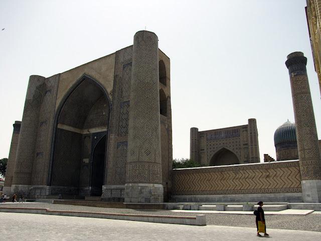 Uzbekistán, Samarkanda - Mezquita de Bibi Khanim