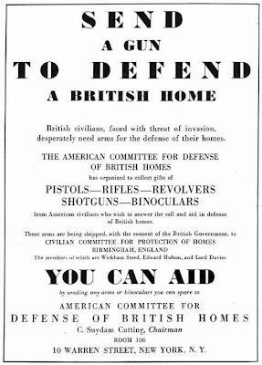Guns for England