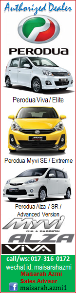 Maisarah - Perodua Authorised Dealer