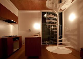 Diseño de casa moderna japonesa