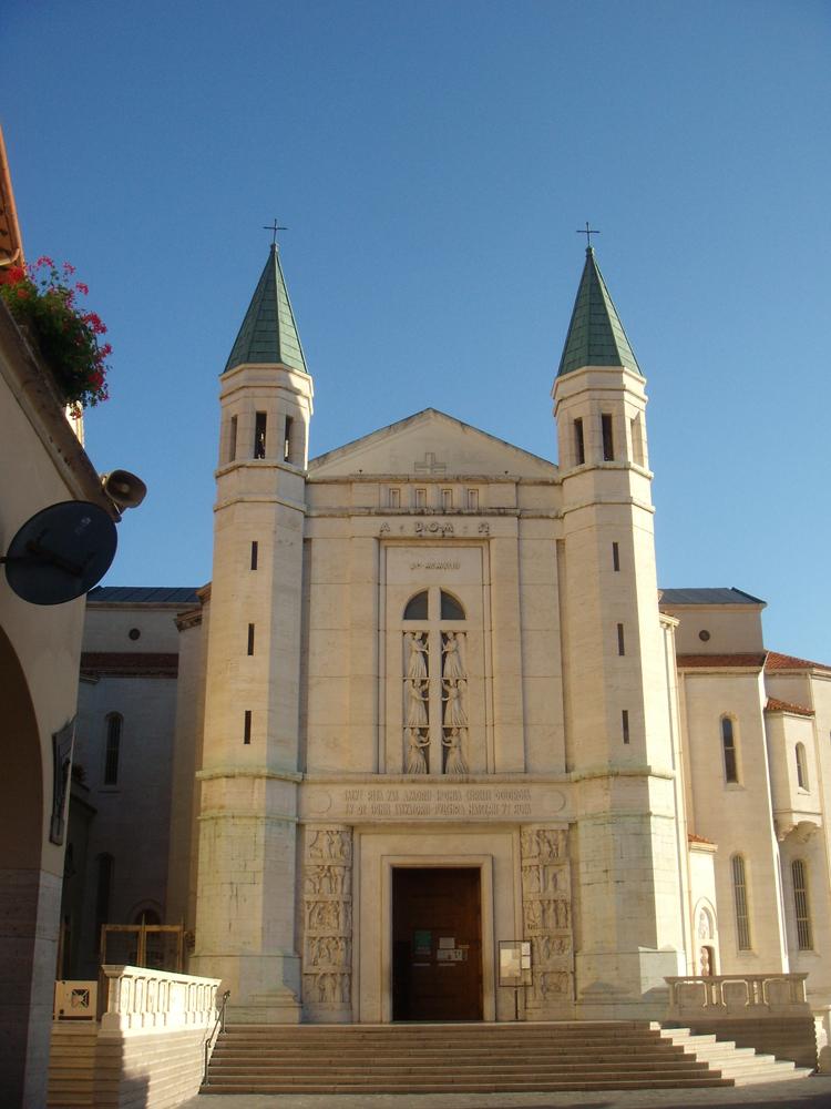 In cammino con san benedetto 1 tappa norcia cascia for Basilica di santa rita da cascia