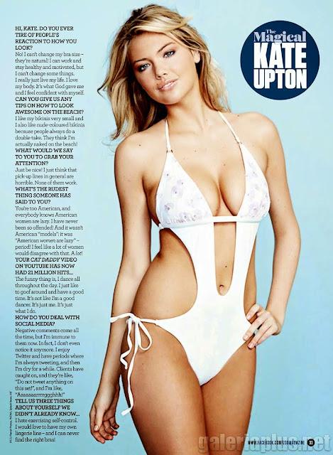 Kate Upton Magazine ZOO April 2015 UK