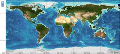 global batimetri
