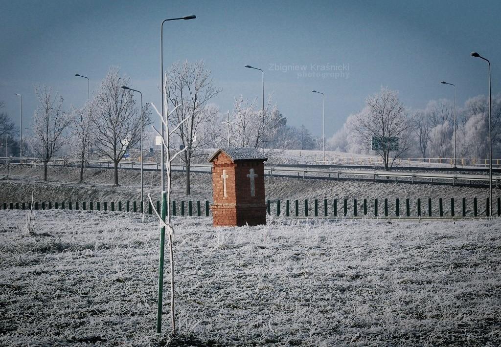 Kapliczki warmińskie: Kromerowo