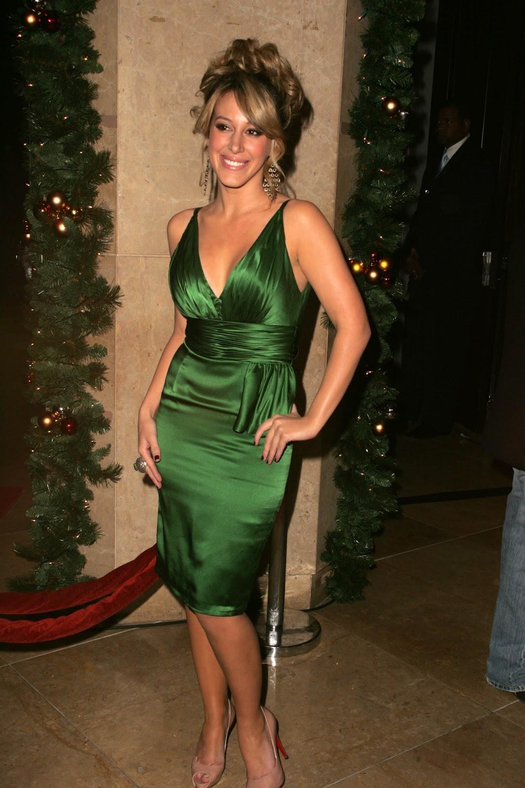 Haylie Duff Dress