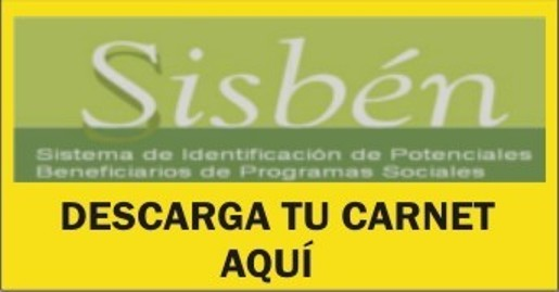 www sisben gov co descargar carnet