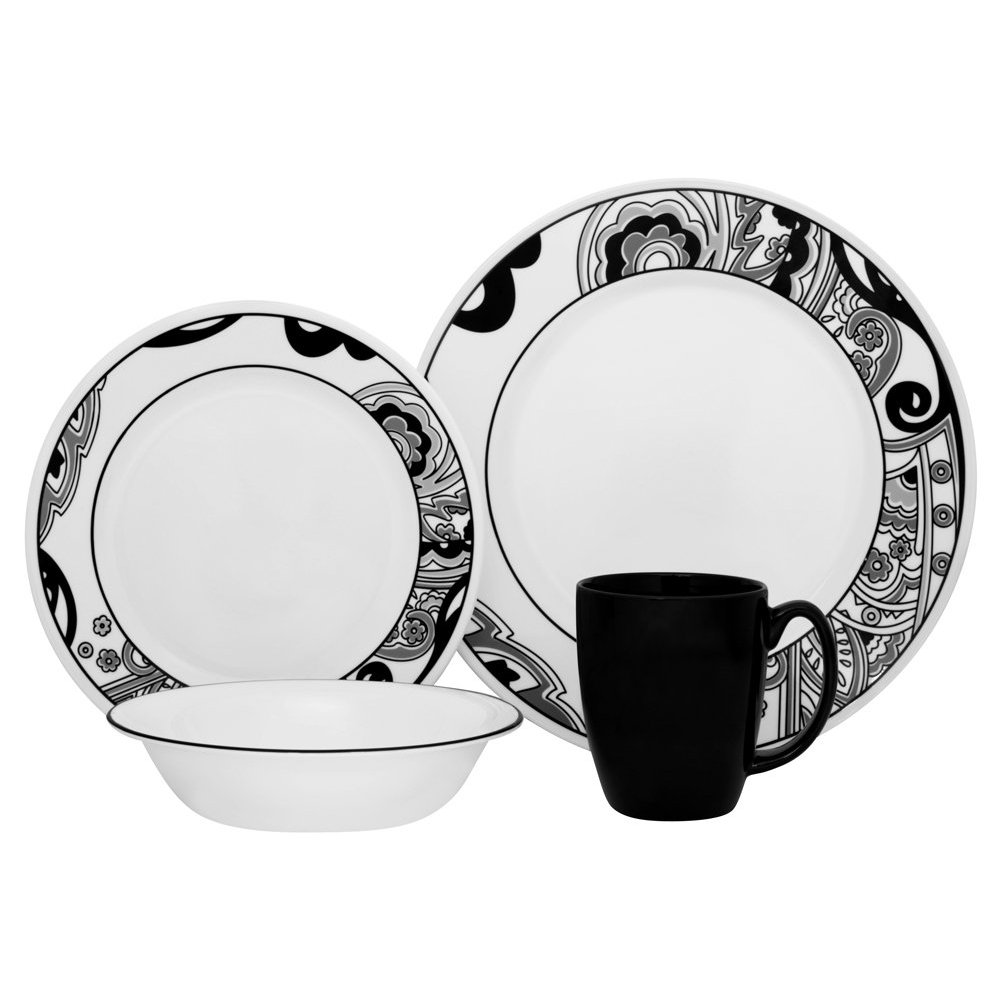 In today\u0027s fast paced always on the go lifestyle you need dinnerware that you can trust. CORELLE® glass dinnerware has the smarts and savvy to take what ...  sc 1 st  best dinnerware sets & best dinnerware sets: Corelle Vive 16-Piece Dinnerware Set Nouveau