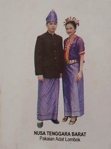 barat pakaian adat tradisional lombok pakaian adat tradisional ...