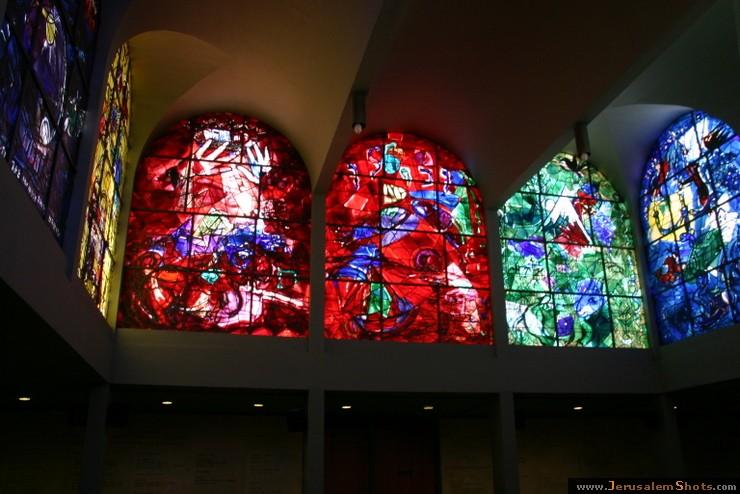 Rhythm Guitar Rabbi: Israel Day 9 - The Chagall Windows of ... Chagall Hadassah Windows