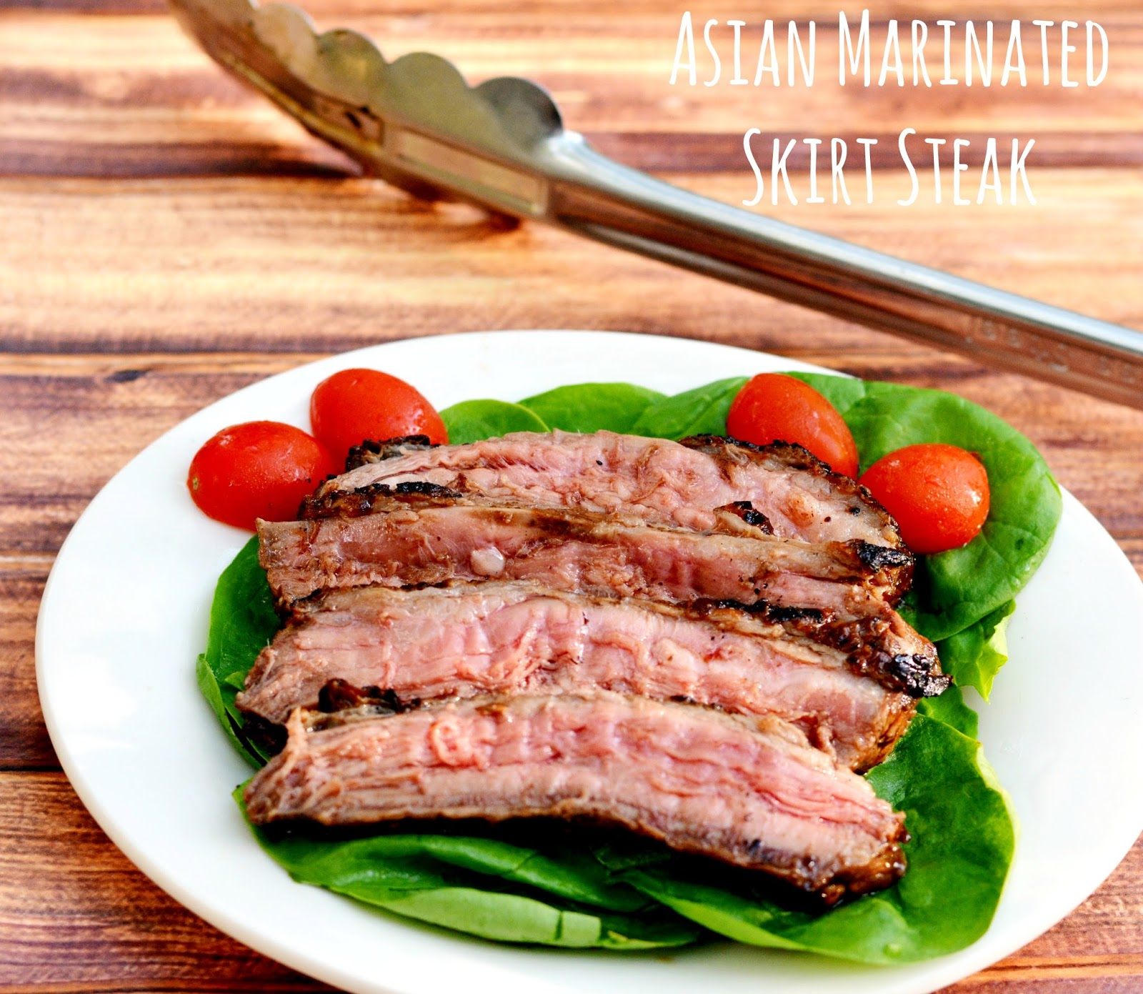 Asian Marinated Skirt Steak #Recipe