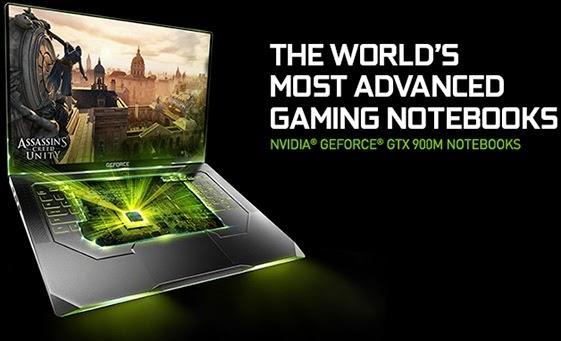 NVIDIA Mempersembahkan GeForce GTX 900M Series untuk Laptop Gaming