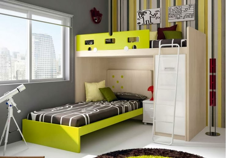 Blog dormitorios juveniles com qu es una litera block juvenil - Literas de diseno ...