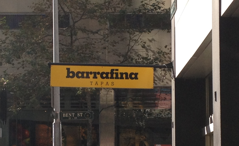 The Random Foodie Barrafina Tapas Bar Sydney Cbd