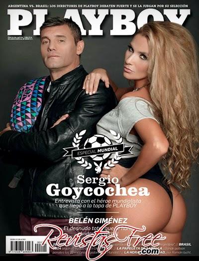 Playboy Argentina - Belen Gimenez - Junho 2014