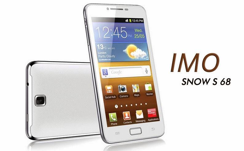 IMO S68 Snow,Harga Terbaru,Spesifikasi Lengkap,HP Cina