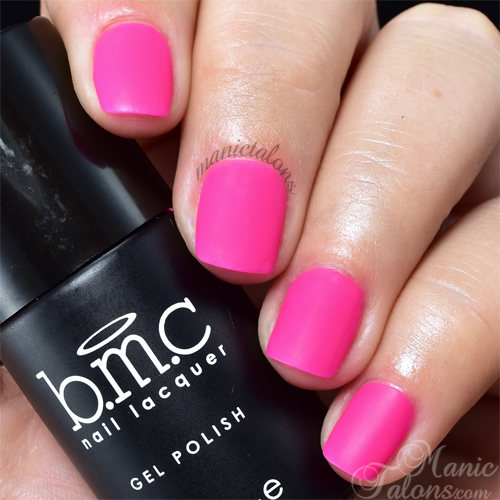 BMC Matte Gel Polish Nights in Ibiza Swatch
