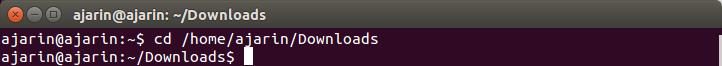 Perintah dasar linux - cd