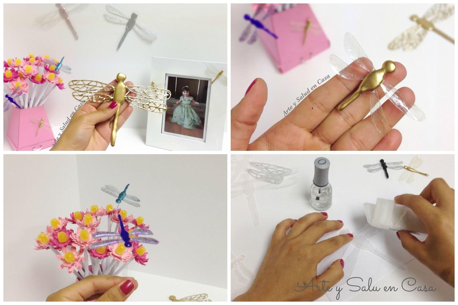 Arte y salud en casa como hacer lib lulas para decorar - Manualidades caseras para decorar la casa ...