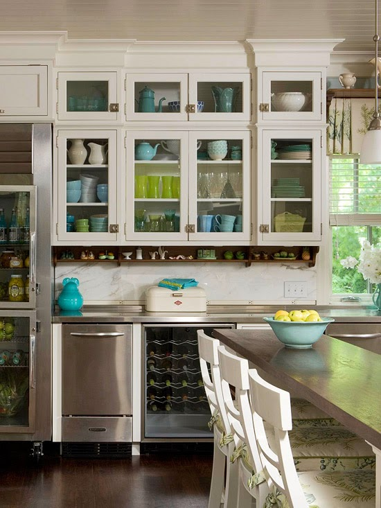 Kitchen Cabinets Stylish Ideas for Cabinet Doors ~ Home Interior