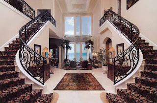 mansion house staircase design