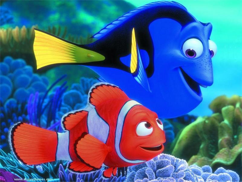 American Animated Movie Finding Nemo