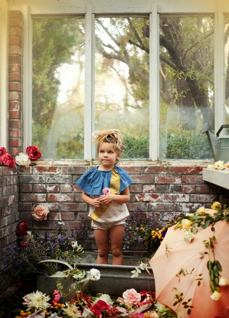 Kids fashion photography for Shan and Toad spring 2014 with Babiekins Magazine