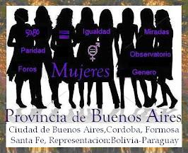 MUJERES Provincia de Buenos Aires- Provincia de Cordoba