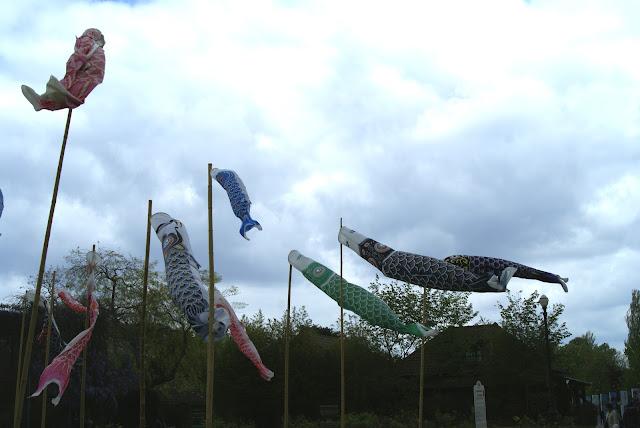 Jardin d'Acclimatation Koinobori