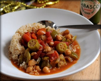 Fatfree Vegan's Chickpea Gumbo