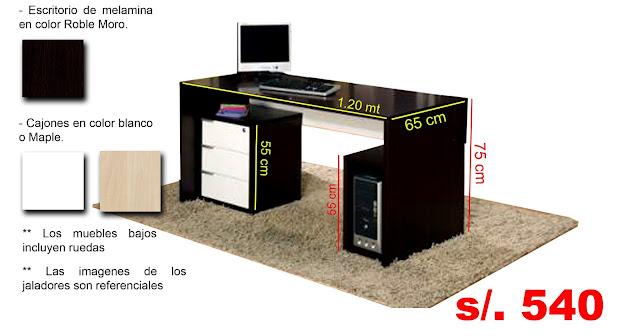 2013 muebles sadeg for Medidas de un escritorio
