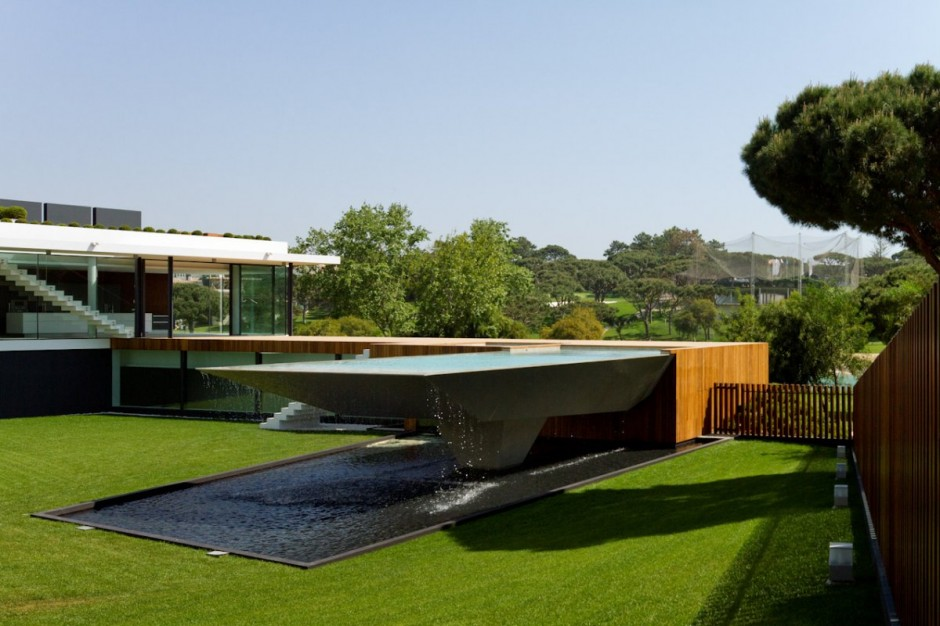 Elevated Pool architecture corner: villa 1095arqui+ architecture