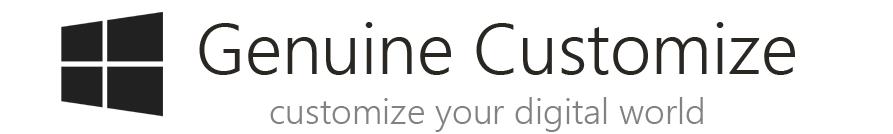 Genuine Customize