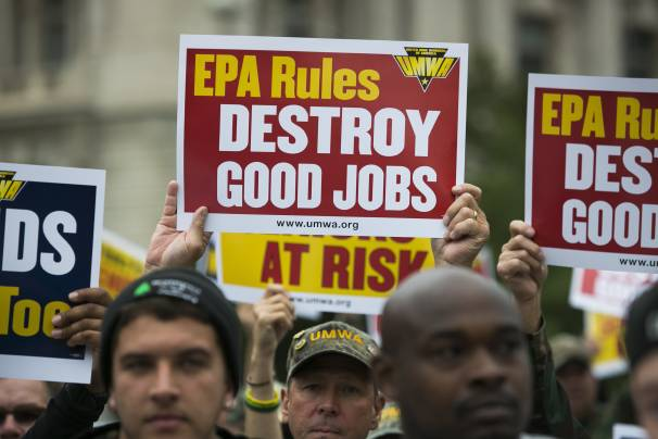 the rural blog miners protest epa say obama 39 s proposed clean air rules are costing central. Black Bedroom Furniture Sets. Home Design Ideas