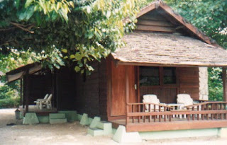 Pulau Bidadari Cottage, Bidadari Island, Beach and island