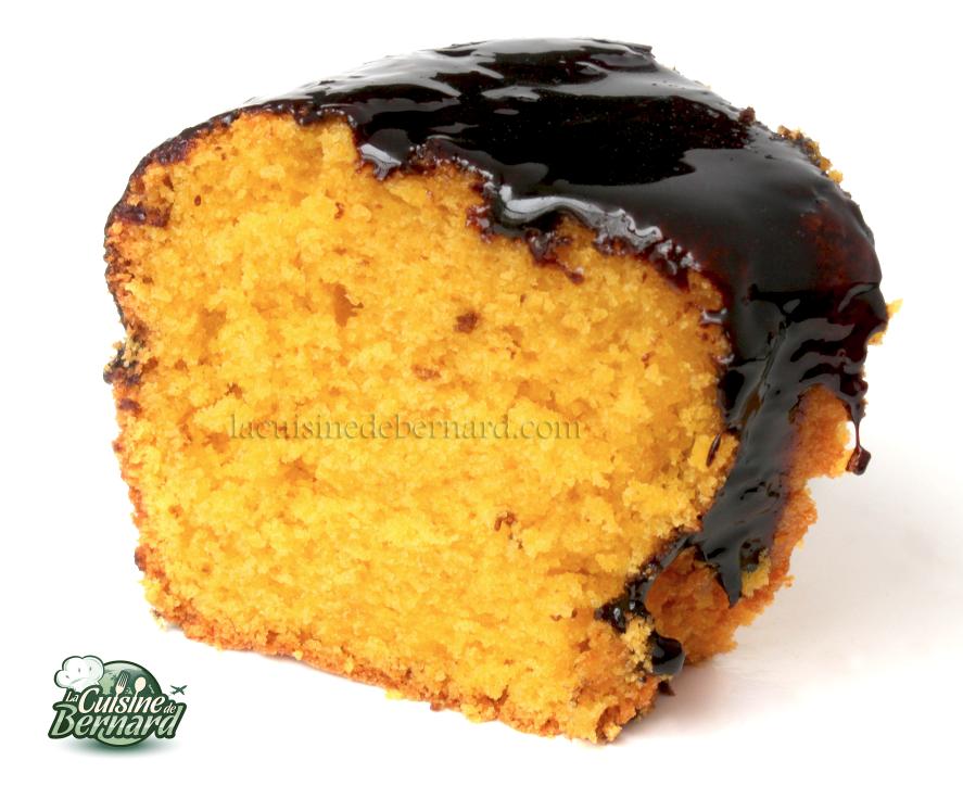 la cuisine de bernard : bolo de cenoura (gâteau brésilien aux