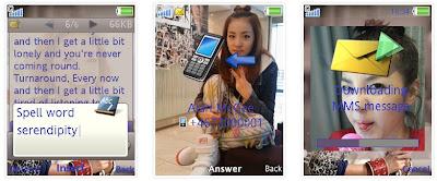 Dara@2NE1 SonyEricsson手機主題Style2 for Elm/Hazel/Yari/W20﹝240x320﹞